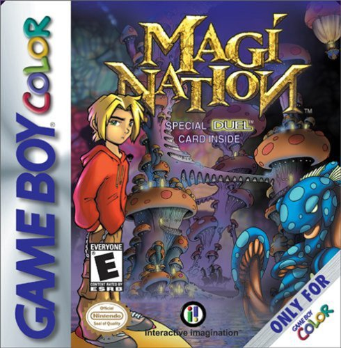 Gameboy Color Magi Nation