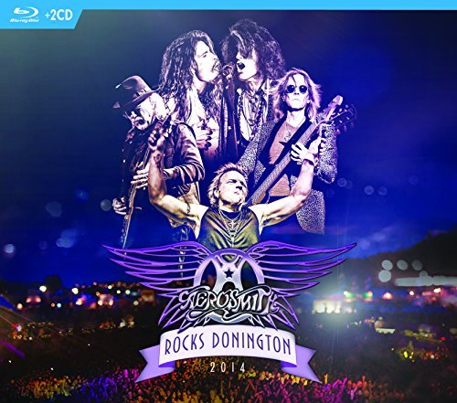 Aerosmith Rocks Donington 2014 Blu Ray 2 CD Combo Rocks Donington 2014