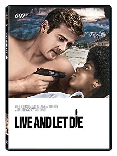 James Bond Live & Let Die DVD Pg