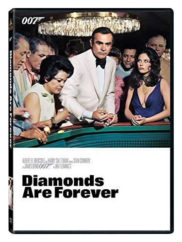 James Bond Diamonds Are Forever DVD Gp