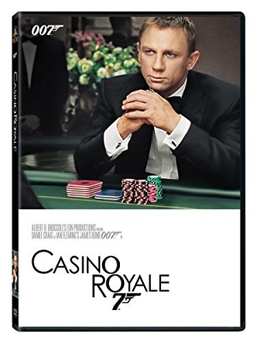 James Bond Casino Royale DVD Pg13
