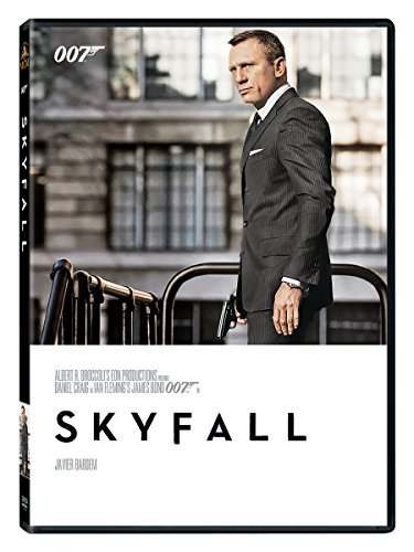 James Bond Skyfall DVD Pg13