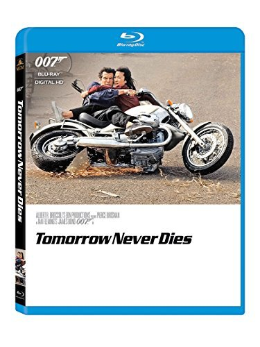 James Bond Tomorrow Never Dies Blu Ray Pg13