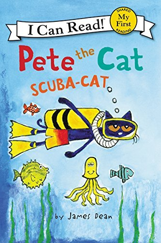 James Dean Pete The Cat Scuba Cat