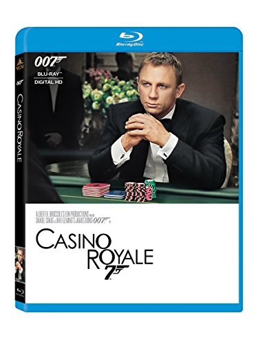 James Bond Casino Royale Blu Ray Pg13