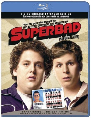 Superbad Goldberg Rogen Cera Hill Hader Blu Ray Unrated Special Edition
