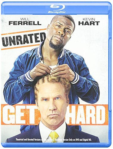 Kelvin Hart Will Ferrell Get Hard (blu Ray + DVD + Ultraviolet) (2015) Get Hard (blu Ray + DVD + Ultraviolet) (2015)