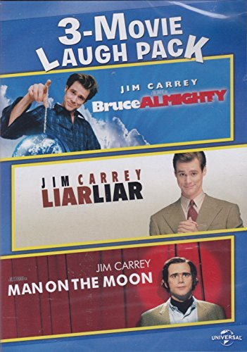 3 Movie Laugh Pack Bruce Almighty Liar Liar Man On The Moon
