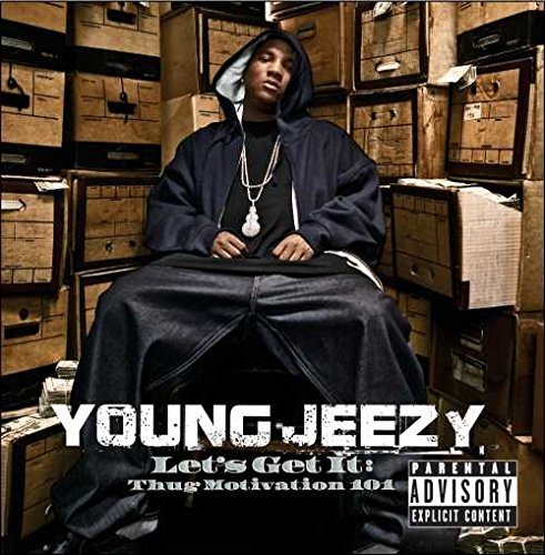 Young Jeezy Let's Get It Thug Motivation (white Vinyl) Explicit Version Let's Get It Thug Motivation (white Vinyl)