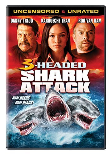 3 Headed Shark Attack 3 Headed Shark Attack DVD Nr