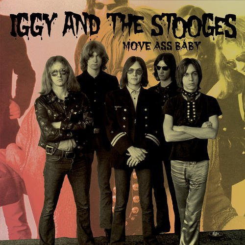 Iggy & The Stooges Move Ass Baby Lp