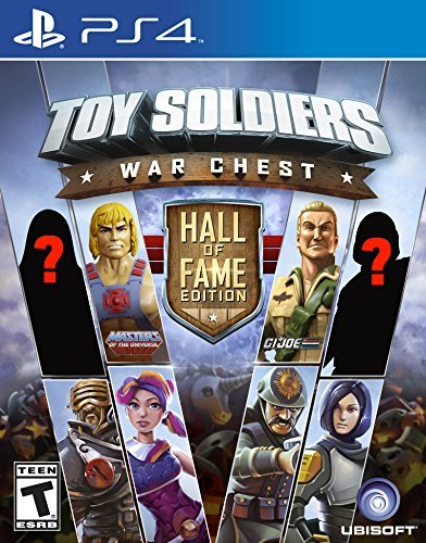 Ps4 Toy Soldiers War Chest Hall Of Fame Edition Toy Soldiers War Chest Hall Of Fame Edition