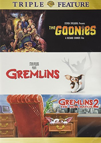 The Goonies Gremlins Gremlins 2 The New Batch Triple Feature