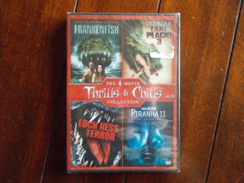 Frankenfish Lake Placid 3 Loch Ness Terror Piranha 2 The Spawning The 4 Movie Thrills & Chills Collection 4 Movie Thrills & Chills Collection