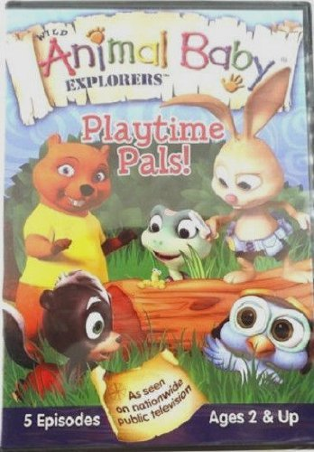Wild Animal Baby Explorers Playtime Pals!