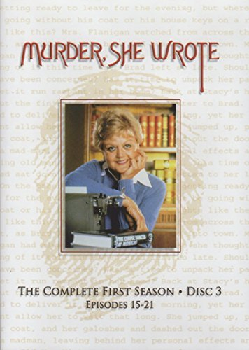 Murder She Wrote Season 1 Disc 3 (episodes 15 21)
