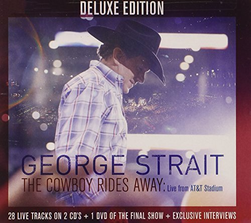 George Strait The Cowboy Rides Away Live From At&t Stadium 2cd+dvd Cowboy Rides Away Live From At&t Stadium