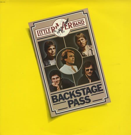 Little River Band Backstage Pass