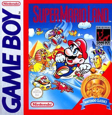 Gameboy Super Mario Land
