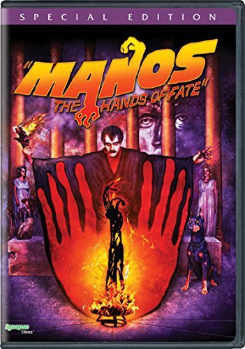 Manos The Hands Of Fate Neyman Reynolds Adelson DVD Nr