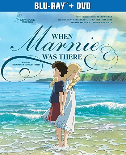 When Marnie Was There Studio Ghibli Blu Ray DVD Pg