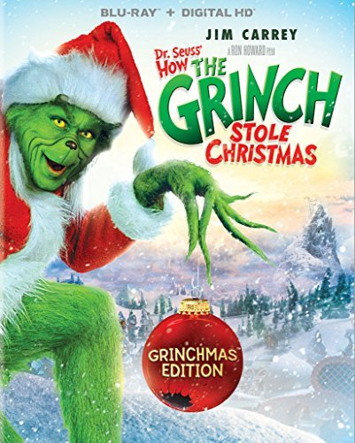 How The Grinch Stole Christmas (2000) Carrey Tambor Baranski Momsen Blu Ray Dc Pg
