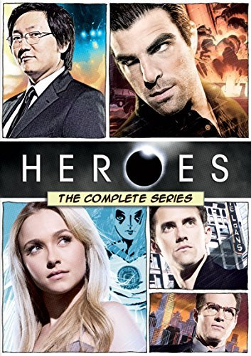 Heroes The Complete Series DVD