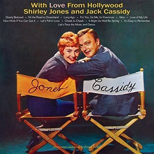 Jones Shirley Cassidy Jack With Love From Hollywood Import Gbr