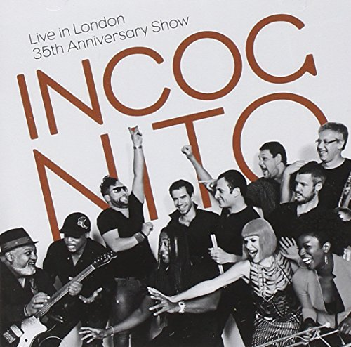Incognito Live In London 35th Annivers 2 CD