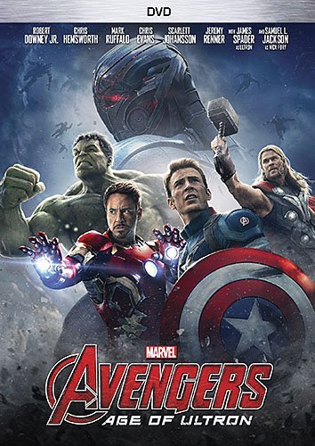 Avengers Age Of Ultron Downey Jr. Hemsworth Evans Johansson Ruffalo DVD Pg13