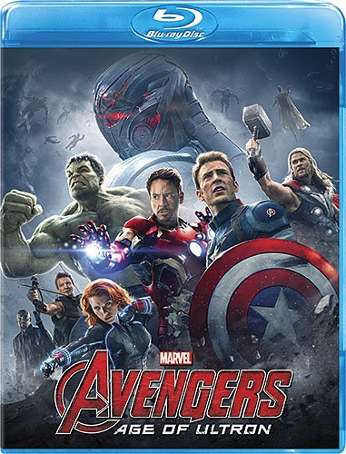Avengers Age Of Ultron Downey Jr. Hemsworth Evans Johansson Ruffalo Blu Ray Pg13