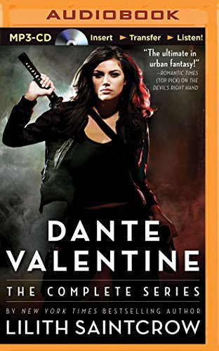 Lilith Saintcrow Dante Valentine The Complete Series Mp3 CD