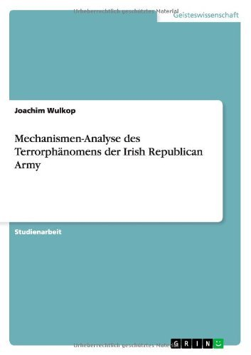 Joachim Wulkop Mechanismen Analyse Des Terrorphanomens Der Irish