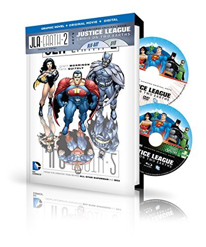 Justice League Crisis On Two Earths Justice League Adventures Justice League Crisis On Two Earths Justice League Adventures Blu Ray Pg13