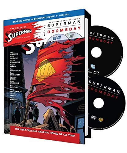 Superman Doomsday Death Of Superman Superman Doomsday Death Of Superman Blu Ray Pg13
