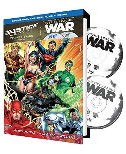 Justice League War Volume 1 Justice League War Volume 1 Blu Ray Pg13