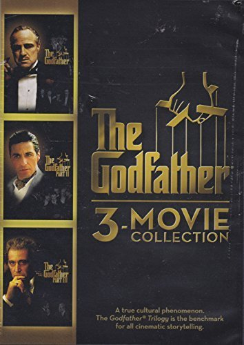 Al Pacino Marlon Brando Robert De Niro Diane Keato The Godfather 3 Movie Collection