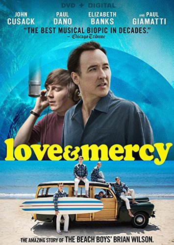 Love & Mercy Dano Cusack Banks DVD Dc Pg13