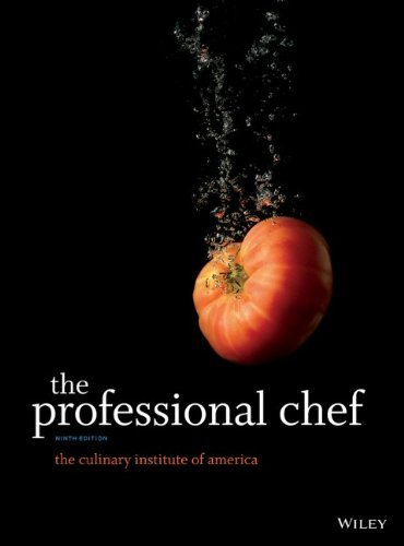The Culinary Institute Of America (cia) The Professional Chef 0009 Edition;