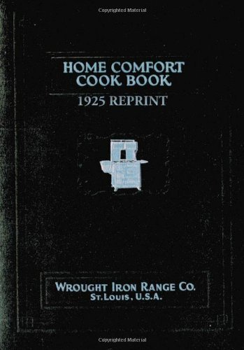 Ross Bolton Home Comfort Cook Book 1925 Reprint