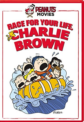 Peanuts Race For Your Life Charlie Brown DVD
