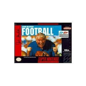 Super Nintendo John Madden Football