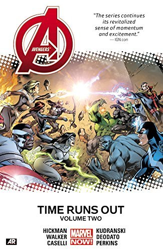 Jonathan Hickman Avengers Time Runs Out Volume 2