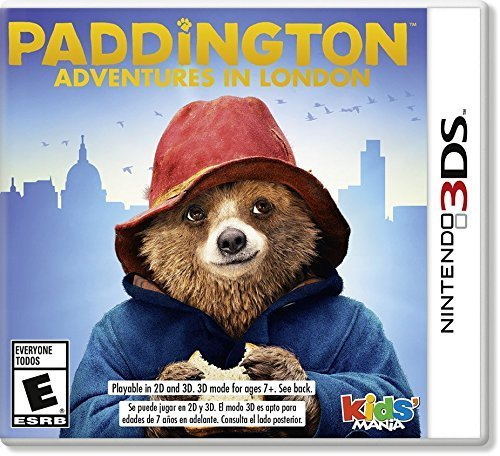 Nintendo 3ds Paddington Adventures In London Paddington Adventures In London
