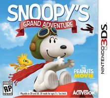 Nintendo 3ds Snoopy's Grand Adventure Snoopy's Grand Adventure