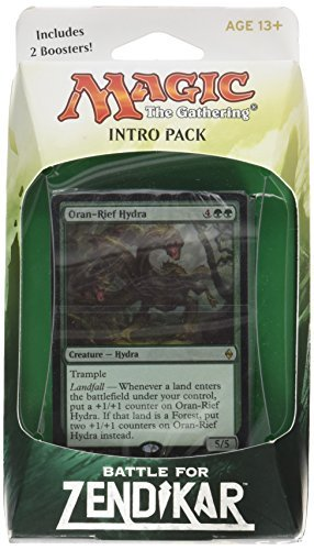 Magic The Gathering Cards Battle For Zendikar Intro Pack