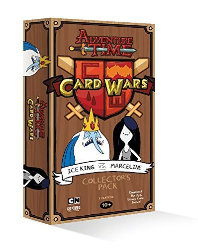 Card Game Adventure Time Card Wars Ice King Vs. Marceline