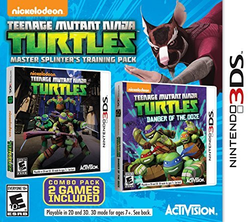 Nintendo 3ds Teenage Mutant Ninja Turtles Master Splinter's Training Pack Teenage Mutant Ninja Turtles Master Splinter's Tra