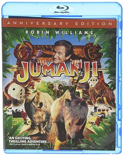 Jumanji Williams Dunst Neuwirth Grier Blu Ray Pg