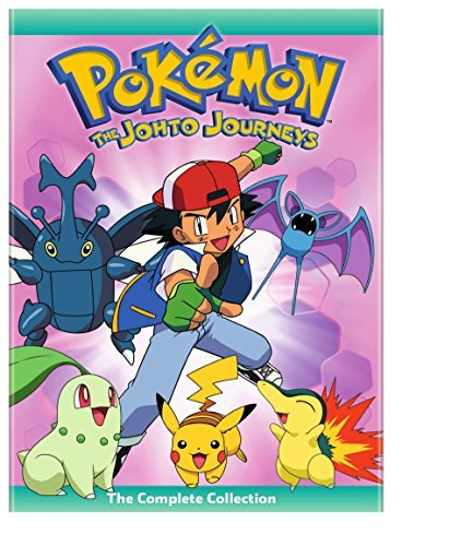 Pokemon The Johto Journeys The Complete Collection DVD